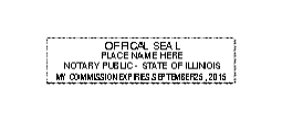 Illinois notary seal